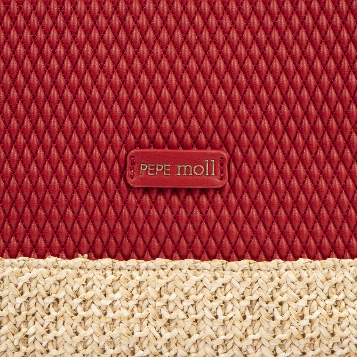 bolso de hombro rojo 36130