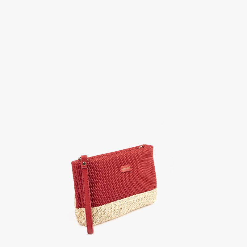 bolso de mano rojo 36132 perfil