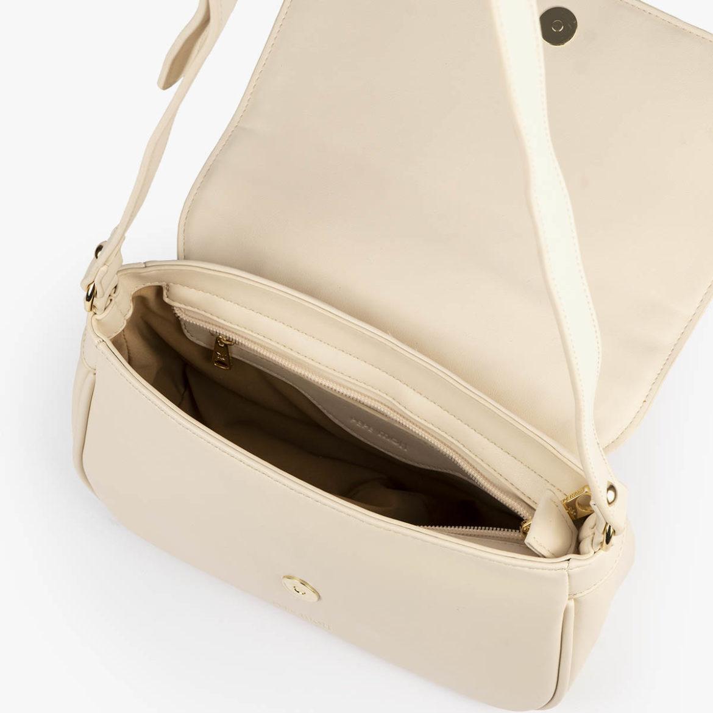 bolso bandolera pepemoll 37105 malla blanco