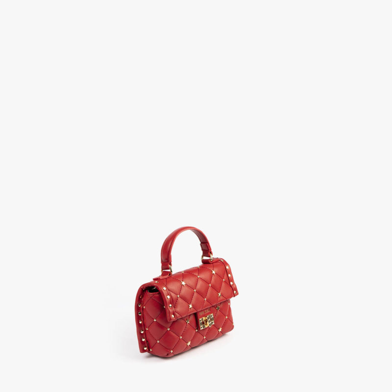 bolso de mano rojo pepemoll 42123 detalle perfil