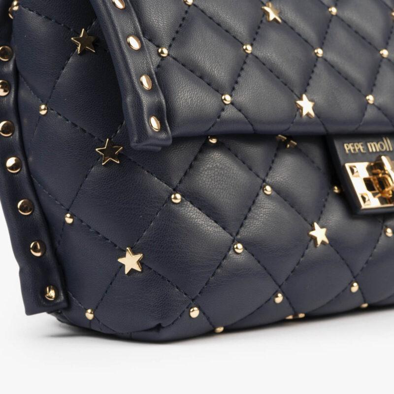 bolso bandolera azul pepemoll 42124 detalle detalle