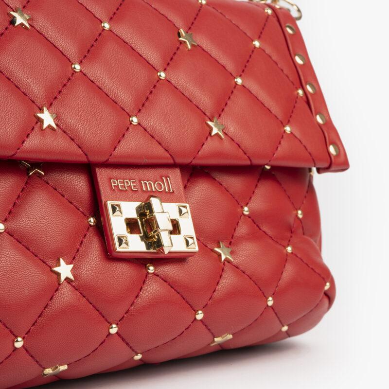 bolso bandolera rojo pepemoll 42124 detalle