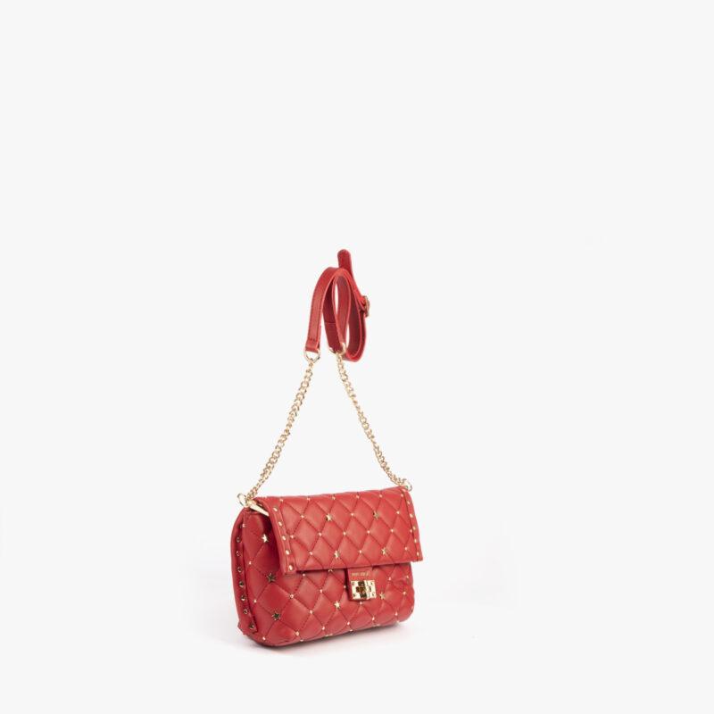 bolso bandolera rojo pepemoll 42124 perfil