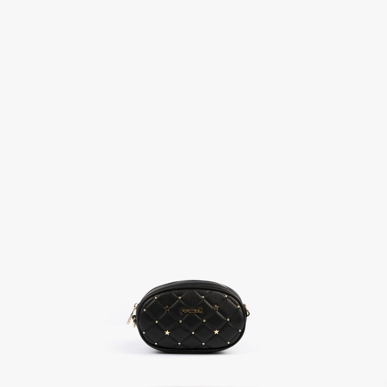 riñonera negra pepemoll 42126
