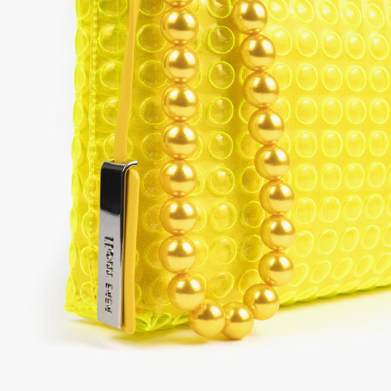 bolso bandolera estilo bubble amarillo 55049