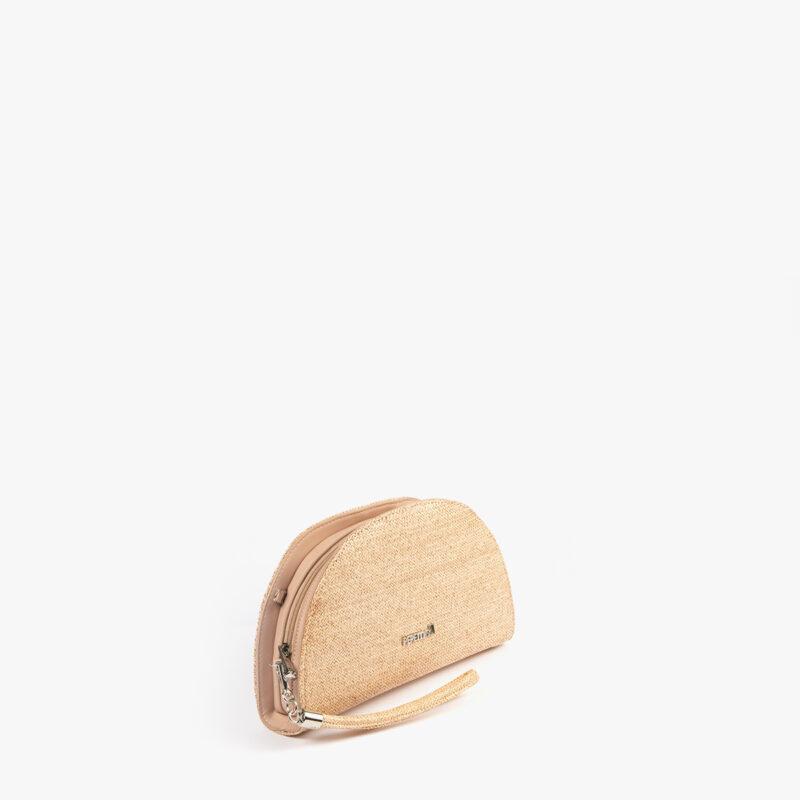 bolso de mano 61042 de espiga nude perfil