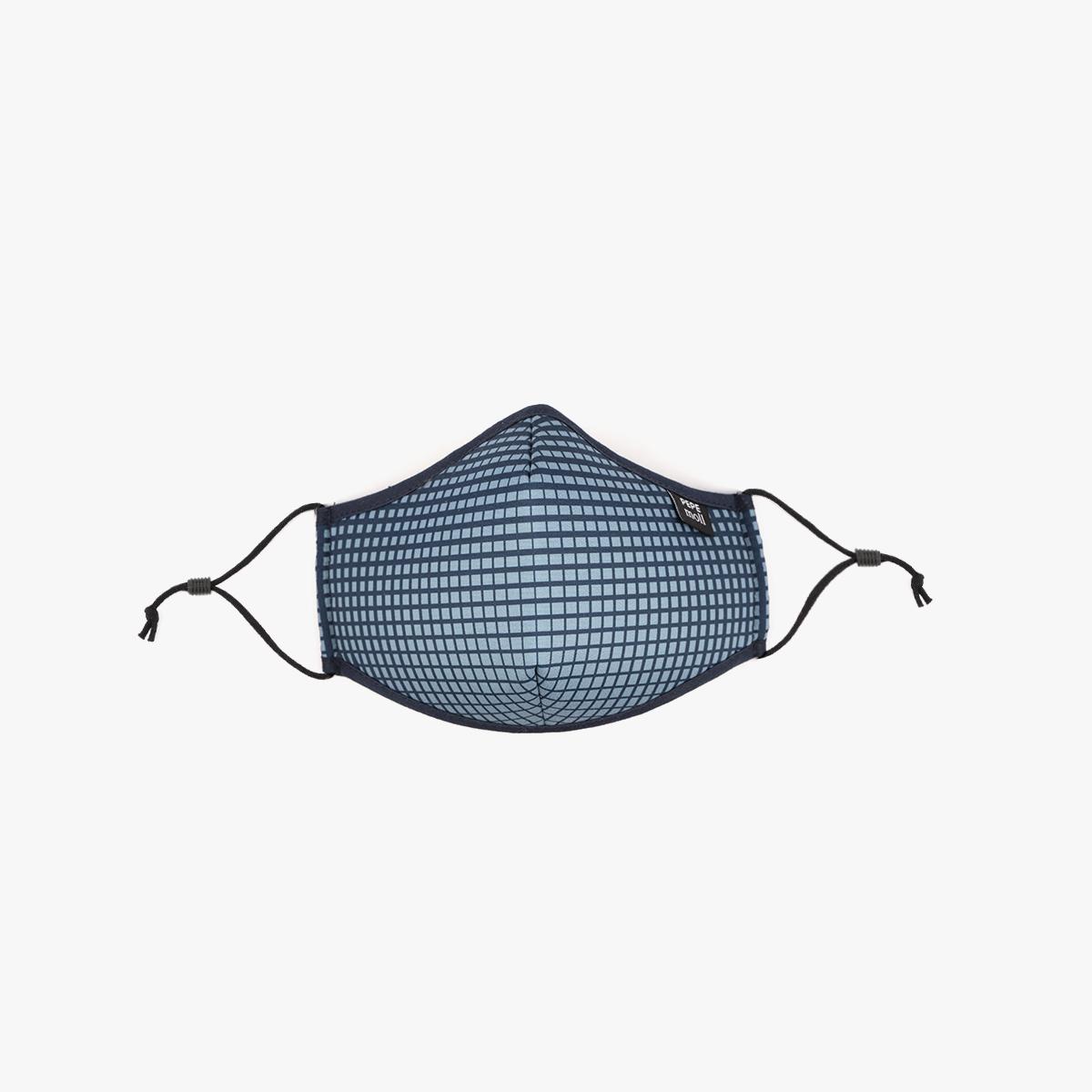 cuadrado azul frontal