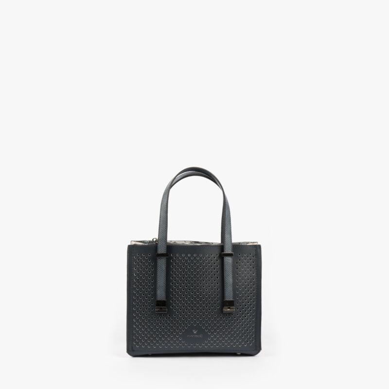 15128 cuir white boa black-4