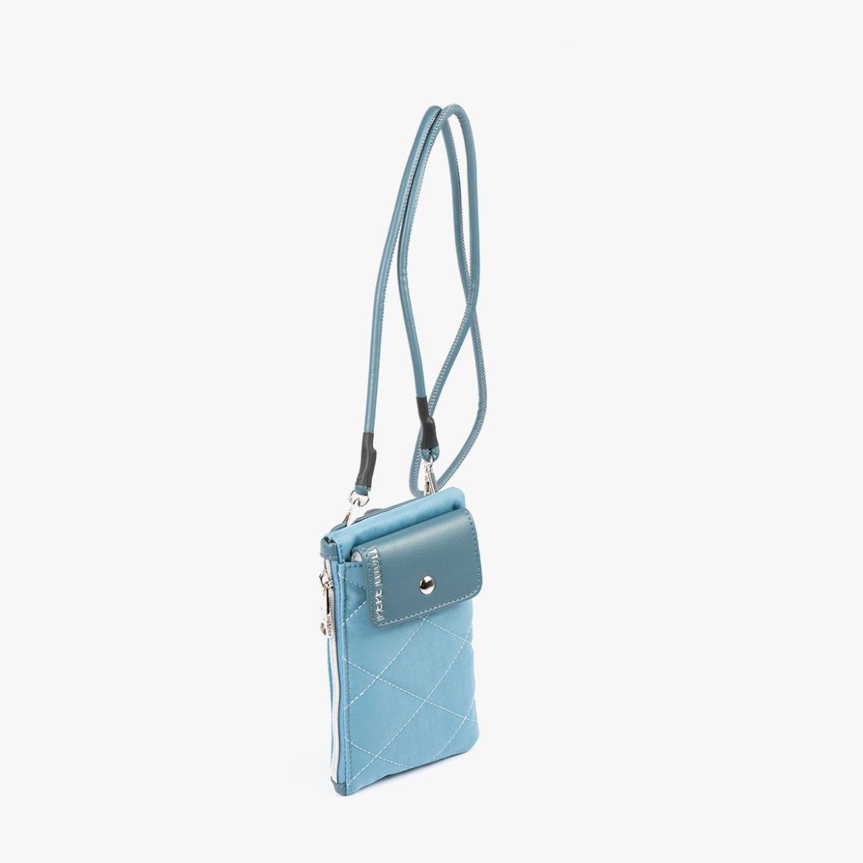 Porta Móvil acolchado Azul 14139