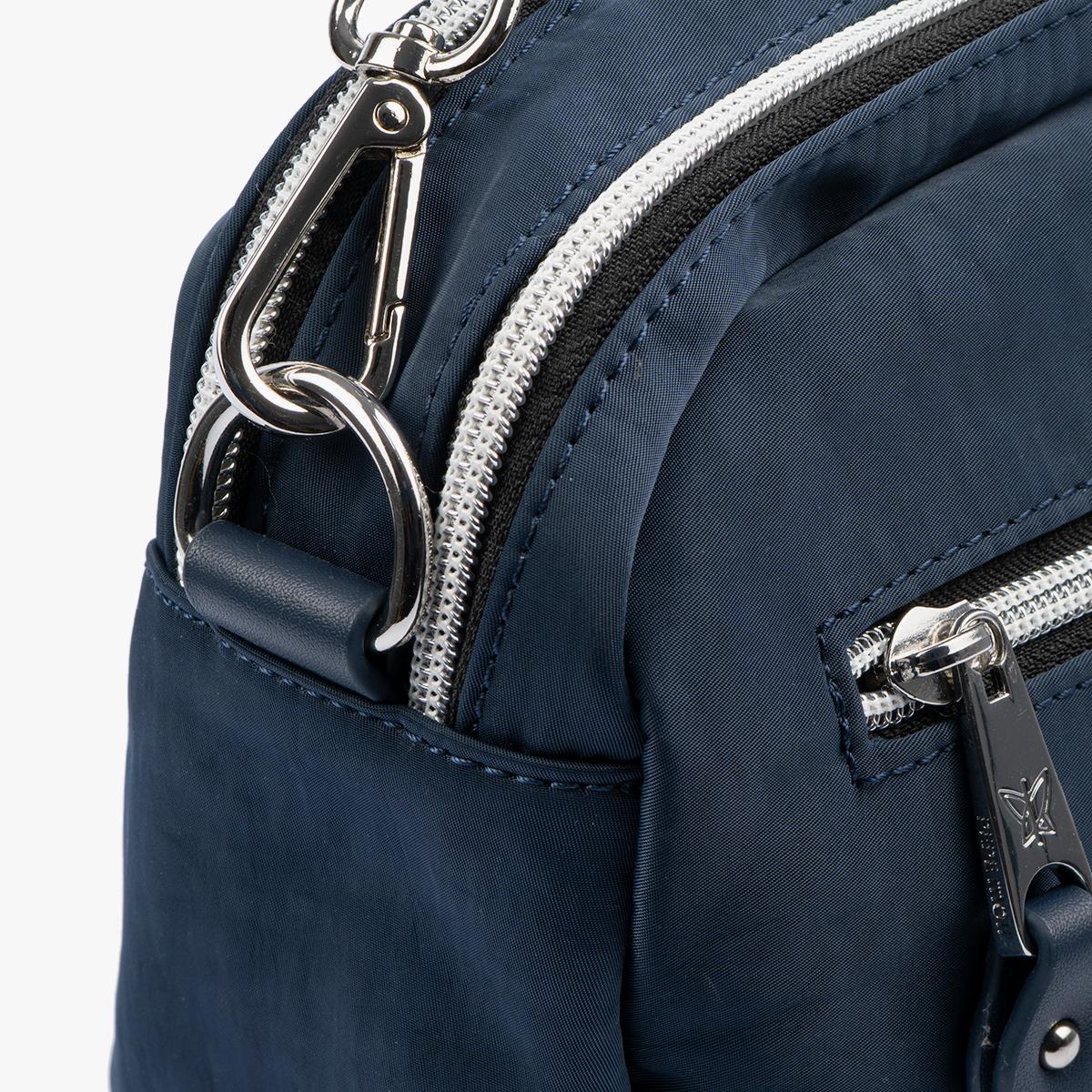 Bolso Bandolera azul 18215 detalle