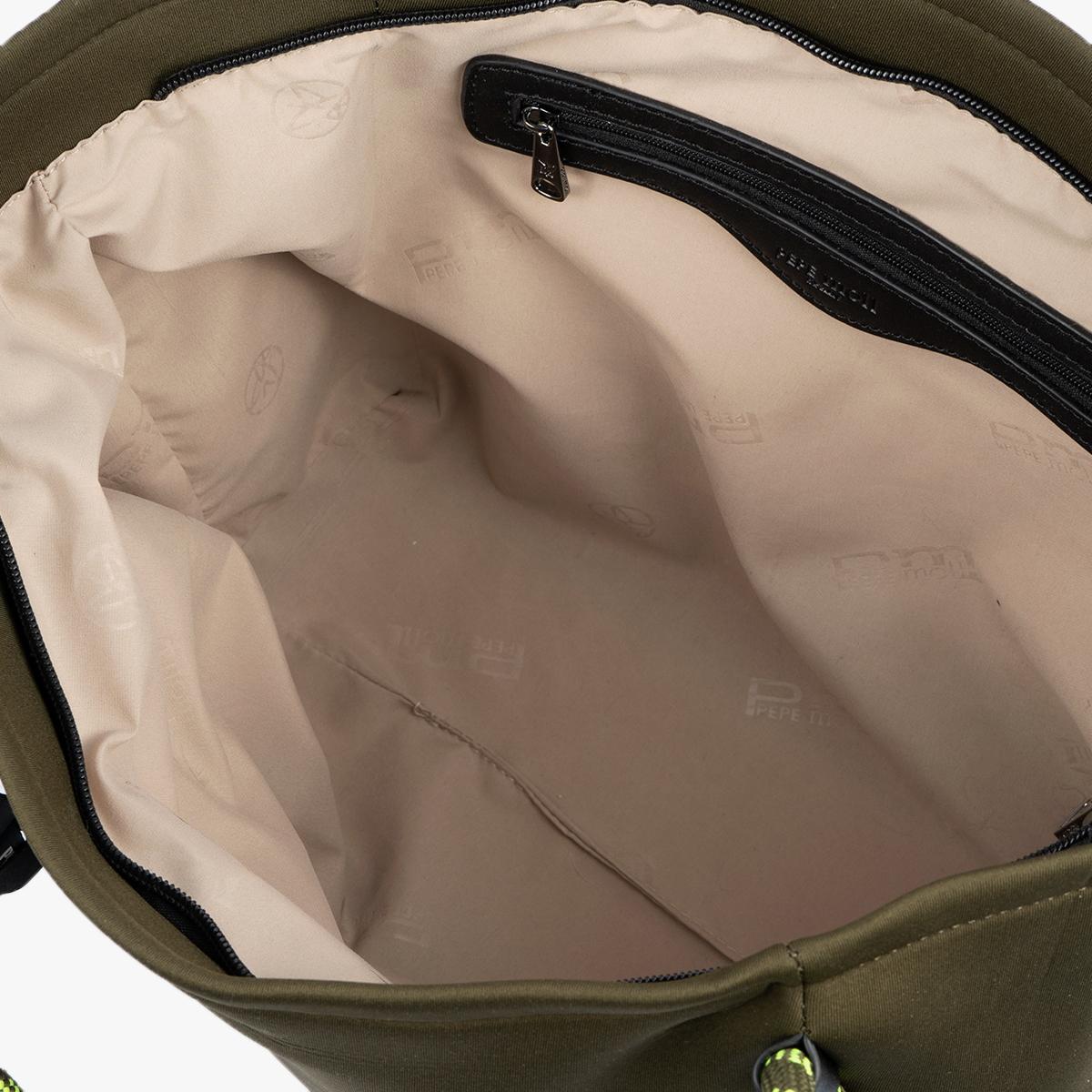 Bolso de hombro Verde 41130