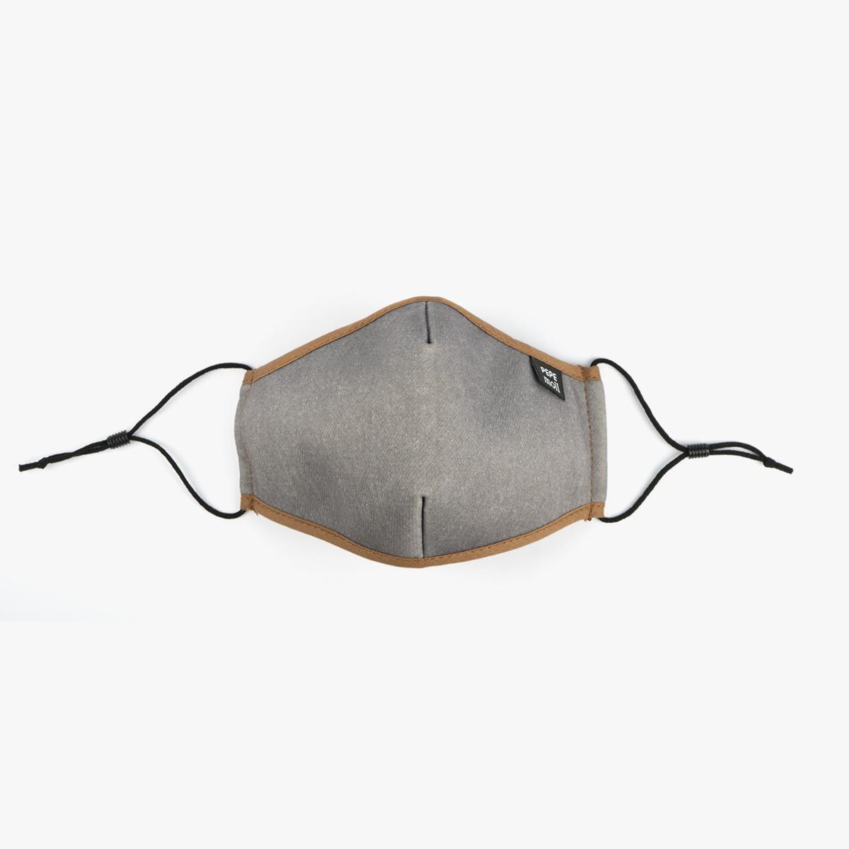 Mascarillas tejano gris para adultos unisex