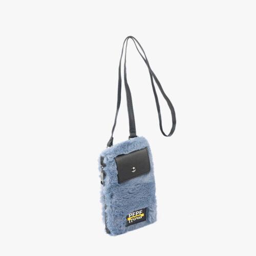 Porta Móvil pelo azul 14138