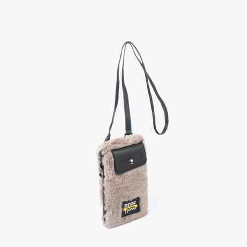 Porta Móvil pelo gris 14138