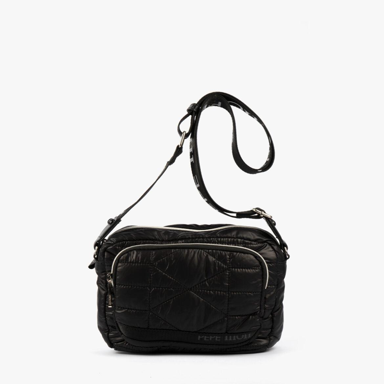 Bolso de mano negro 22137