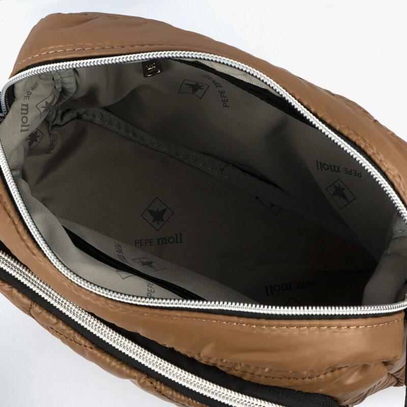 Bolso de mano taupe 22137