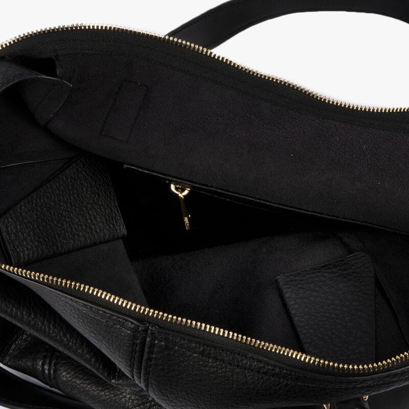 Bolso de hombro Negro 23119
