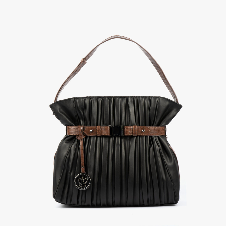 Bolso de mano Negro 24135