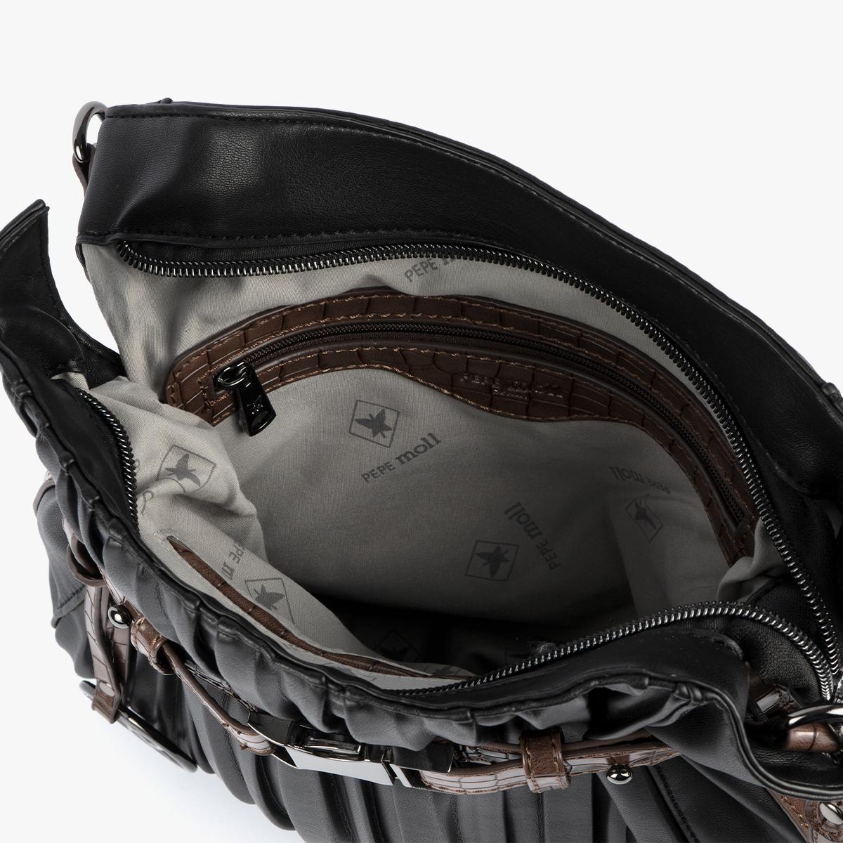 Bolso bandolera Negro 24136