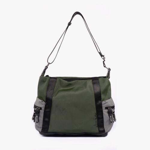 Bolso de hombro verde 25134