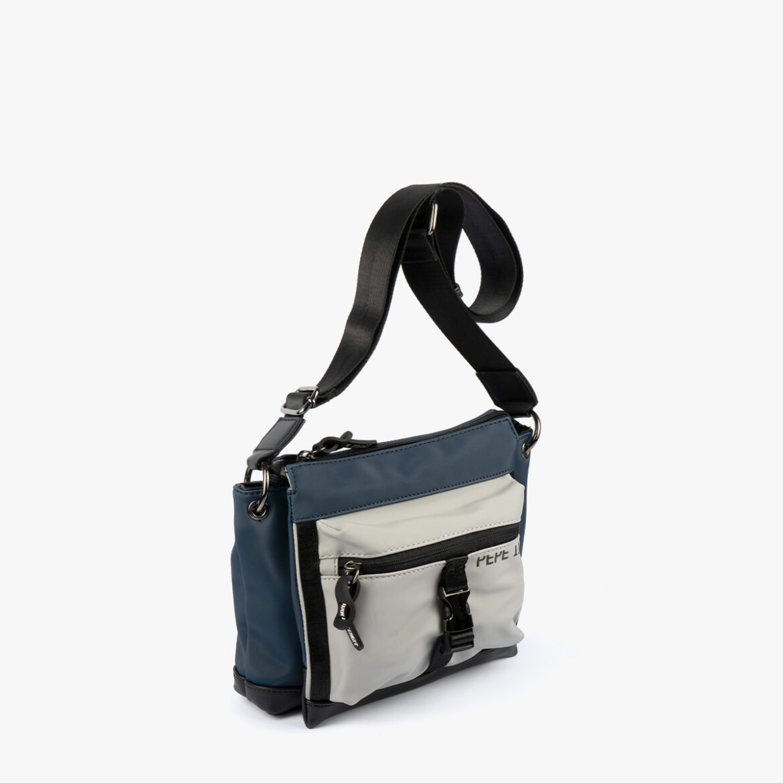 Bolso bandolera azul 25135
