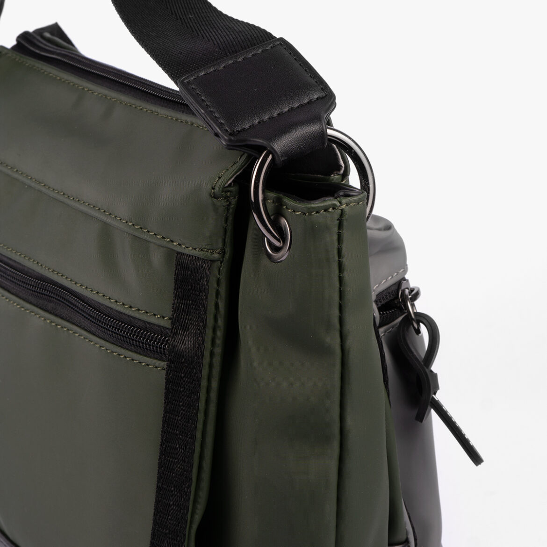 Bolso bandolera verde 25135