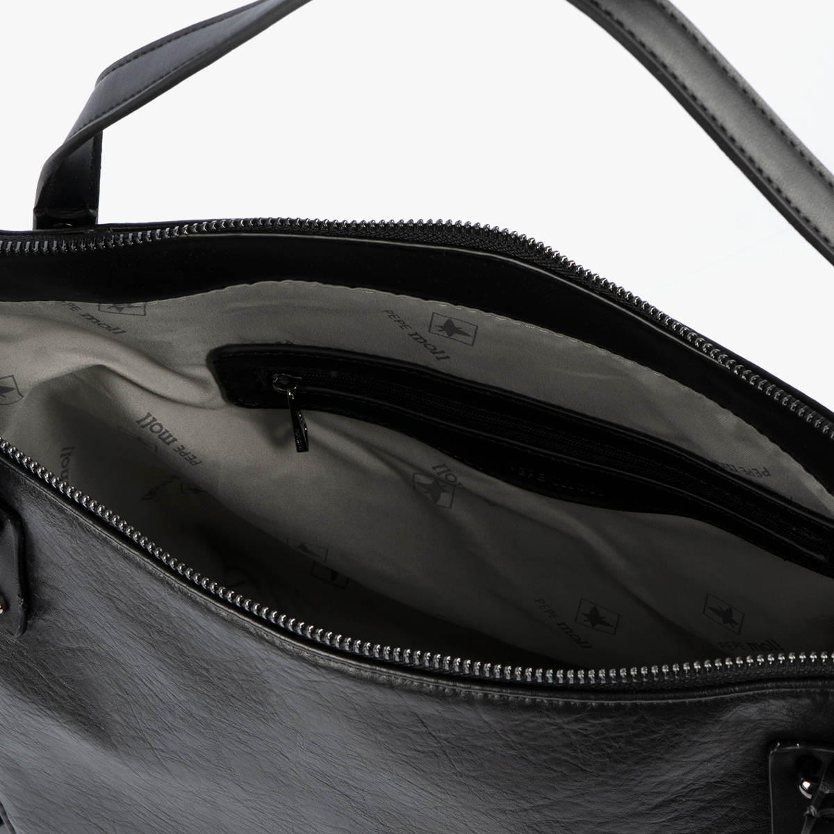 Bolso de mano negro 30116