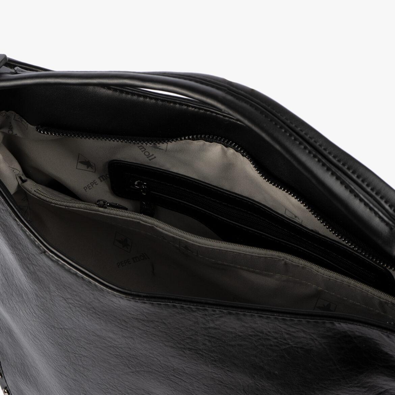 Bolso de hombro negro 30118
