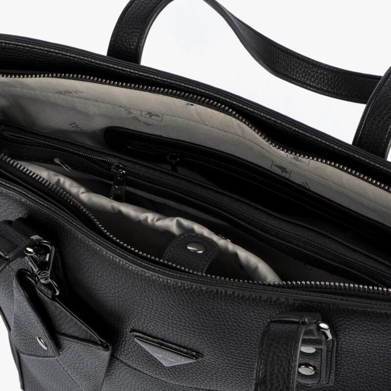 Bolso de hombro negro 33009