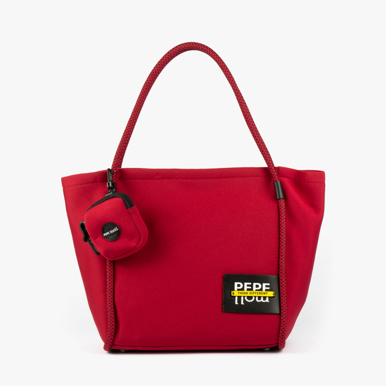 Bolso de hombro Rojo 41130