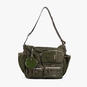Bolso hombro verde 42131